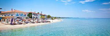 Pefkochori Beach, Halkidiki