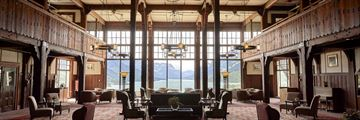 Royal Stewart Dining Room, Prince of Wales Hotel, Waterton Lake