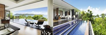 Royal Oceanview Villa at Raffles Seychelles