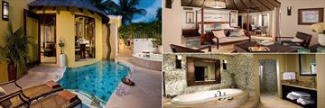 Rondoval Butler Suite with Private Pool at Sandals Grande St Lucian