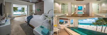 Beachfront One Bedroom Skypool Butler Suite at Sandals Royal Barbados