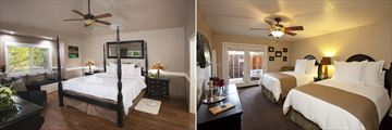 West Meadow Suite and Double Queen Guestroom