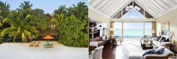 Two Bedroom Beach Suite and Rehendi Presidential Suite at Taj Exotica Resort & Spa