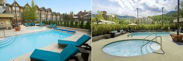 Aava Whistler Hotel, Pools
