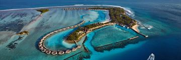 Aerial Views of Cinnamon Dhonveli Maldives