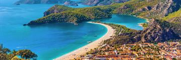 Aerial view of Fethiye