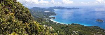 Aerila View of Mahe Seychelles