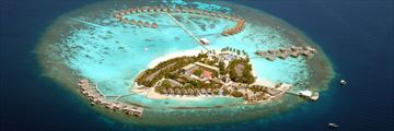 Aerial View of Centara Grand Island Resort & Spa