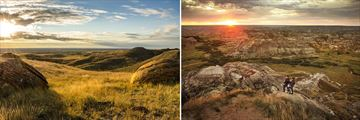 The Badlands & Dinosaur Land in Alberta