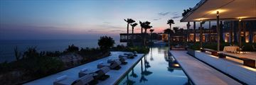 Panoramic View of Alila Villas Uluwatu and Pool