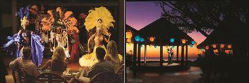 Almond Beach Resort entertainment and gazebo