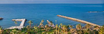 Sea views from Amathus Beach Hotel