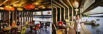 An Lam Retreats Saigon River, Tram's Cookery Interior and Views Over Saigon River