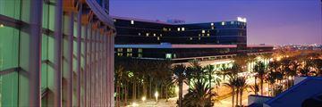 Anaheim at twilight