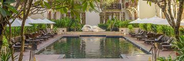 The main pool at Anantara Angkor Resort