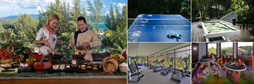 Anantara Layan Phuket Resort, Spice Spoons Cooking Class, Table Tennis, Pool Table, Children's Club and Fitness Centre