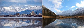 Anchorage Alpine Skyline & Chugach Park Scenery