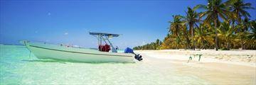 Beautiful Dominican Republic beach