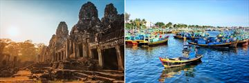 Angkor Thom & Phan Thiet Fishing Boats