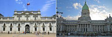 Architecture in Santiago, Chile & Buenos Aires, Argentina