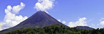 Arenal Volcano landscape, Costa Rica