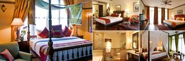 Ariyasom Villa, (clockwise from left): Executive Suite, Deluxe Room, Studio, Executive Deluxe and Bathroom