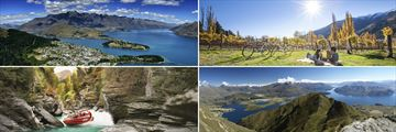 Fantastic array of activities in Queenstown, South Island