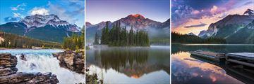 Athabasca, Pyramid Lake & Maligne Lake, Jasper