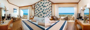 Classic Room and Superior Room at Constantinou Bros Athena Royal Beach Hotel