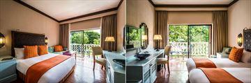 Avani King Room and Avani Twin Rooms at Avani Victoria Falls Resort
