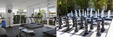 B Resort & Spa Lake Buena Vista, Fitnesss Centre and Giant Chess