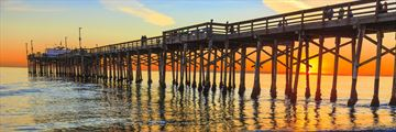 Balboa Pier on Newport Beach