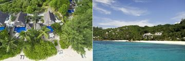 Banyan Tree, Seychelles, Views of Resort