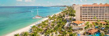 Resort View of the Barcelo Aruba