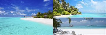 Beaches in the Maldives