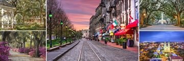 Stunning Savannah Cityscapes, Georgia