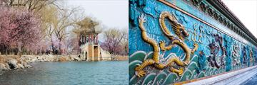 Summer Palace and the Nine Dragons Screen at the Forbidden City in Beijing