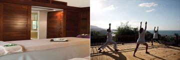 Belmond Napasai, Spa Treatment Room and Yoga