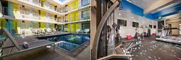 Pool and Fitness Centre at Best Western Hollywood Hills