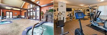 Best Western Merry Manor Inn, Mineral Spa Waterfall and Hot Tub and Fitness Room