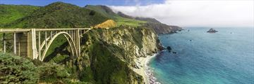 Bixby Bridge in California, perfect for a road trip