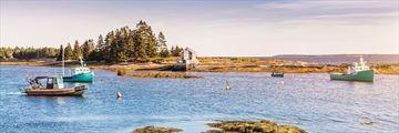 Blue Rocks in Lunenburg County, Nova Scotia