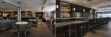 Hull & Mason Restaurant and Hull & Mason Bar at Boston Marriott Quincy