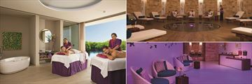 Breathless Riviera Cancun Resort & Spa, Spa Cabin, Relaxation Room and Lush Bar