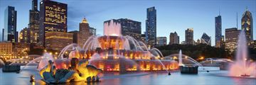Bunckingham Fountain, Chicago