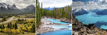 Canmore, Kicking Horse River & Garibaldi Lake, Whistler