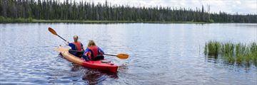 Canoeing at Sun Peaks