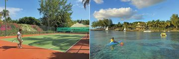 Canonnier Beachcomber Golf Resort & Spa, Tennis and Watersports