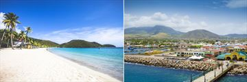 Carlisle Bay Antigua and Basseterre Town