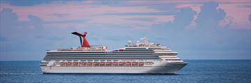 Carnival Liberty out at sea